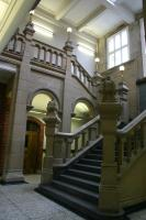View of staircase looking South-West.<br>Taken from the Inner Hall.