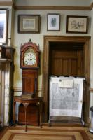 View of room (G5) the Chairmans Office looking more closely at the Grand Fathers Clock from the Works Managaers Flat (Ebbw Vale House).. .